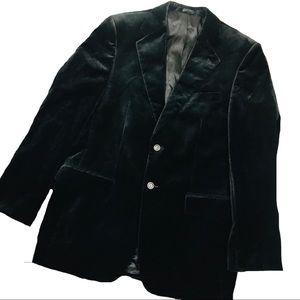 Express ‣ Black Velvet Blazer 40R NWOT